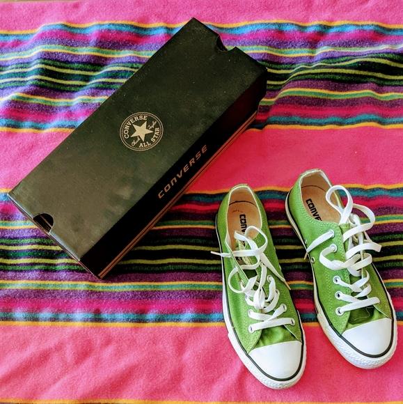Green Converse Sneakers - Sz 6 men's